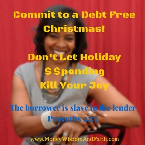 Debt Free Holiday